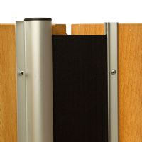Premium finger guard for manual or automated door operation.